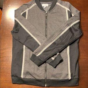 Calvin Klein Grey Men's Zip-up Sweater